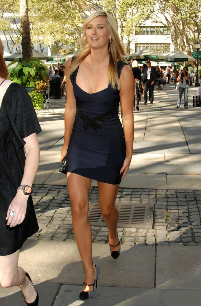 Maria Sharapova Off the Court Hot