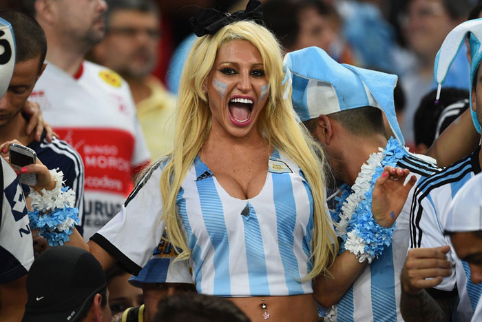 and Sometimes the Game does go your way for Argentina Fans!