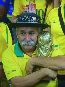 Brazil loss against Germany in 2014 World Cup