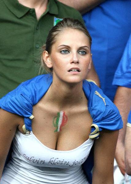 Blue italian cap women