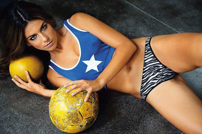 Laisa Andrioli Hottest Female Soccer Players 1