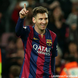 Leo Messi Salary is the 4th Highest paid athlete in the world