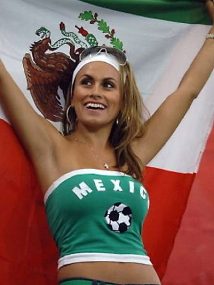 Green mexican soccer tube-top