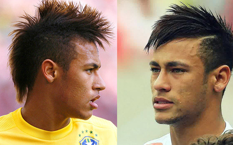 Neymars Hairstyles And Haircuts That Have Come And Gone