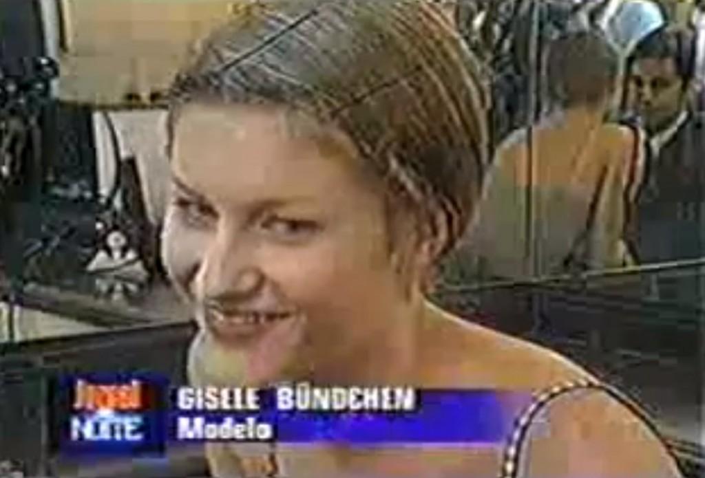 Gisele Bundchen 1st Modeling Pics